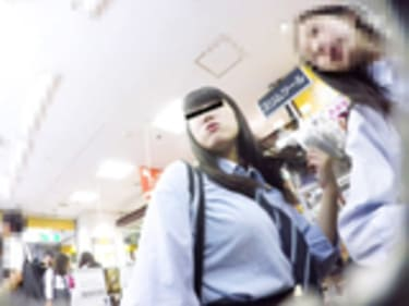 【JKパンチラ盗撮】原宿の制服女子高生!1画像