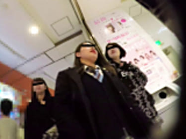 【JKパンチラ盗撮】原宿の制服女子高生!5画像